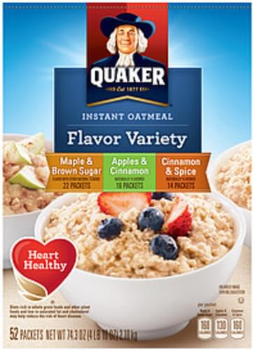 Quaker Oatmeal Maple & Brown Sugar