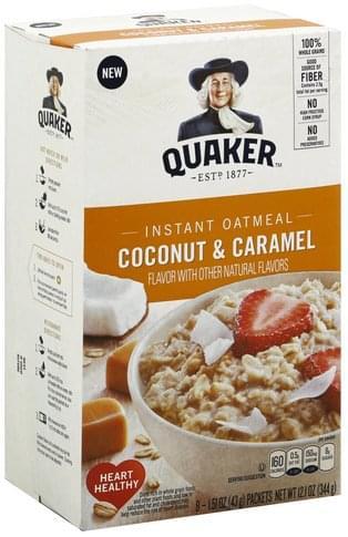 Coconut & Caramel Flavor Oatmeal