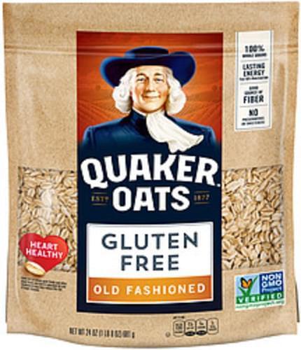 Quaker Oats Gluten Free Old Fashioned Quaker Gluten Free Old Fashioned Oats - 0