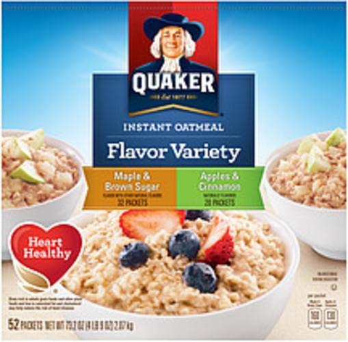 Quaker Oatmeal Flavor Variety Quaker