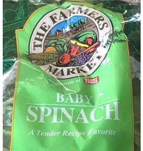 The Farmers Market Baby Spinach