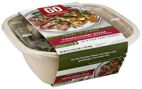 Great To Go Meal Kit Chimichurri Steak, with Crispy Potatoes and Shishito Pepper