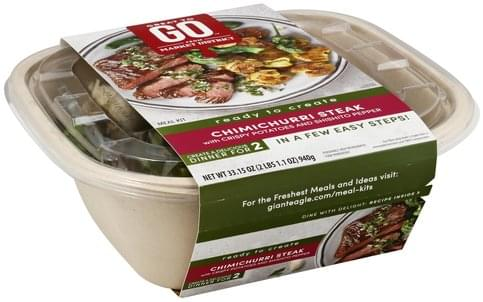 Great To Go Chimichurri Steak, with Crispy Potatoes and Shishito Pepper Meal Kit - 33.15 oz