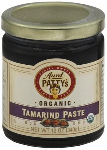 Aunt Pattys Organic Tamarind Paste - 12 oz