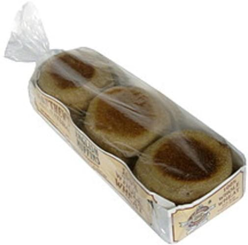 Matthews Whole Wheat, Fork Split English Muffins - 6 ea