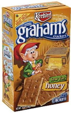 Keebler Grahams Crackers Low Fat, Honey