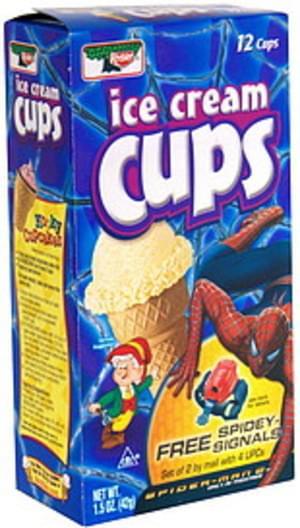 Keebler Ice Cream Cups - 12 ea