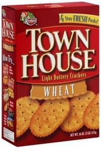 Keebler Light Buttery Crackers Wheat
