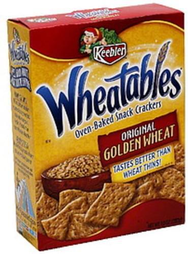 Wheatables Original Golden Wheat Oven-Baked Snack Crackers - 10 oz