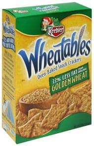 Wheatables Oven-Baked Snack Crackers Golden Wheat
