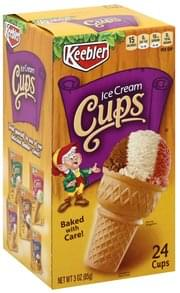 Keebler Cups Ice Cream