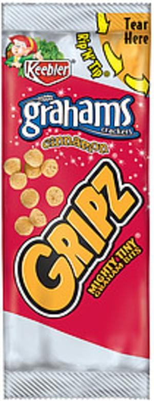 Keebler Gripz Cinnamon Keebler Gripz Cinnamon Graham Crackers - 0