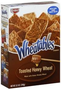 Wheatables Crackers Nut Crisps, Toasted Honey Wheat