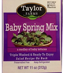 Taylor Farms Baby Spring Mix