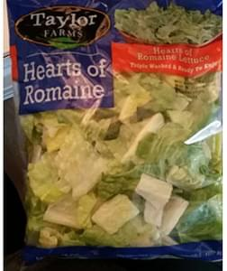 Taylor Farms Hearts of Romaine Lettuce