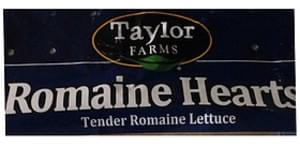 Taylor Farms Romaine Hearts