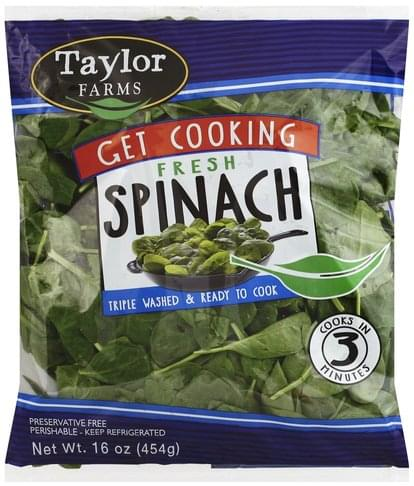 Taylor Farms Fresh Spinach - 16 oz
