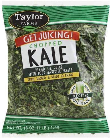 Taylor Farms Chopped Kale - 16 oz