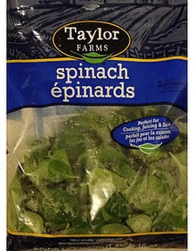 Taylor Farms Spinach - 85 g