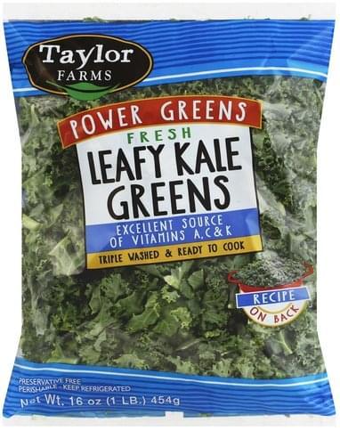 Taylor Farms Leafy, Fresh Kale Greens - 16 oz