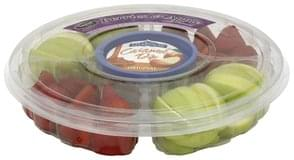 Taylor Farms Fruit Tray Berries & Apple, with Caramel Dip, Original