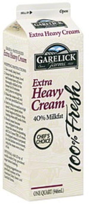 Garelick Farms Extra Heavy Cream - 1 QT