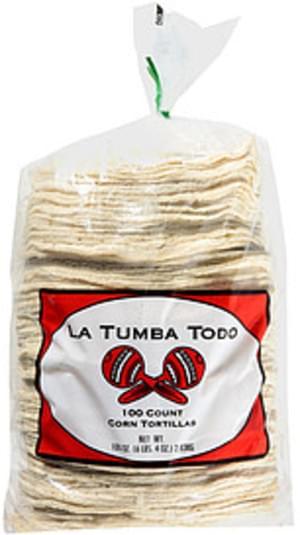 La Tumba Todo Corn Tortillas - 100 oz