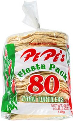 Pe Pe's Tortillas Fiesta Pack Corn