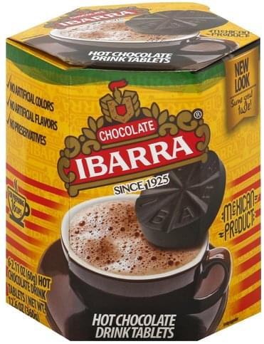 Ibarra Hot Tablets Chocolate Drink 6 Ea Nutrition