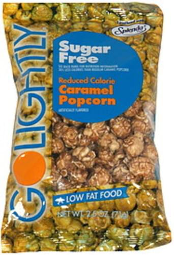 GoLightly Sugar Free Caramel popcorn - 2.5 oz