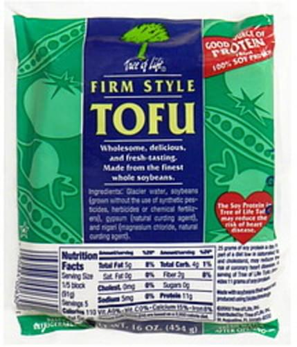 Tree of Life Firm Style Tofu - 16 oz