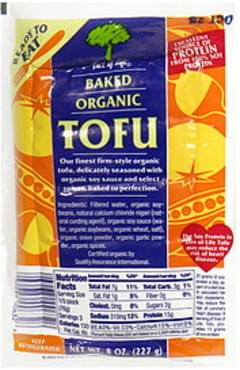 Tree of Life Organic Tofu Baked