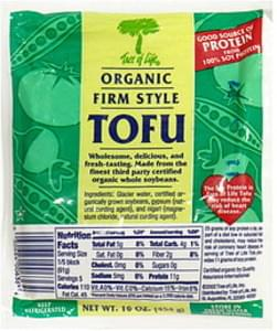Tree of Life Organic Tofu Firm Style