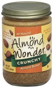 Almond Wonder Almond Butter Crunchy