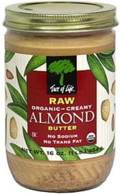 Tree of Life Organic Almond Butter Creamy, Raw