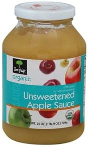 Tree Of Life Apple Sauce Unsweetened