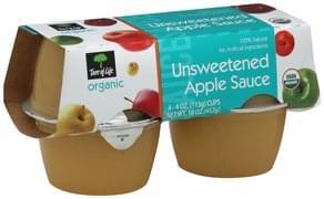 Tree Of Life Apple Sauce Unsweetened
