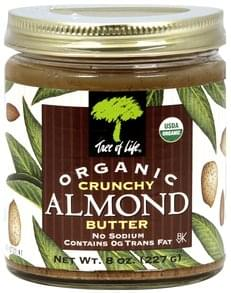 Tree of Life Almond Butter Crunchy
