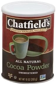 Chatfields Cocoa Powder Unsweetened