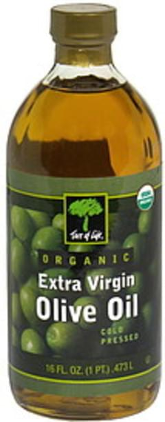 Tree of Life Organic Extra Virgin Olive Oil Cold Pressed