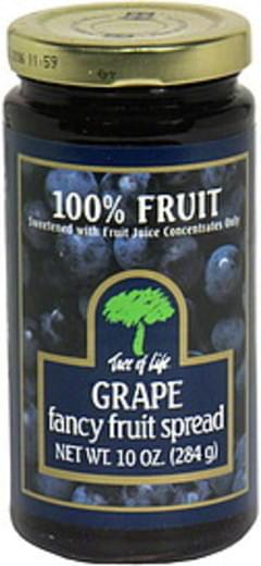 Tree of Life Fancy Fruit Spread Grape