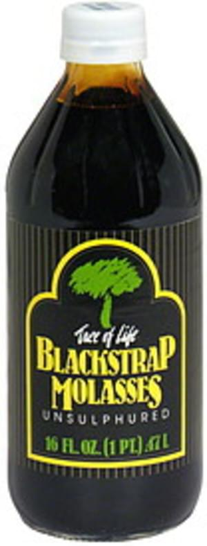 Tree of Life Unsulphured Blackstrap Molasses - 16 oz
