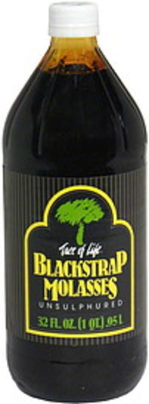 Tree of Life Unsulphured Blackstrap Molasses - 32 oz