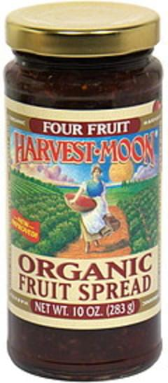 Harvest Moon Organic Fruit Spread Four Fruit