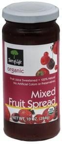Tree Of Life Mixed Fruit Spread