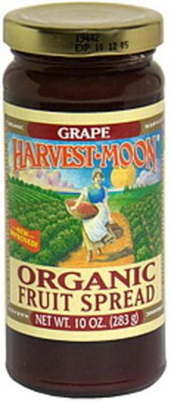 Harvest Moon Organic Fruit Spread Grape