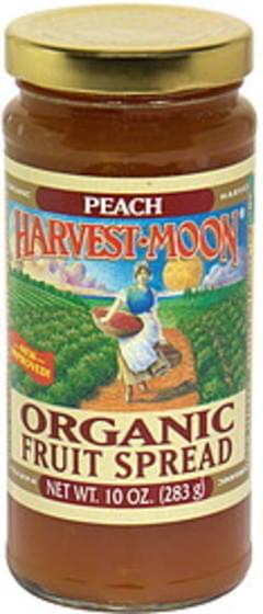Harvest Moon Organic Fruit Spread Peach
