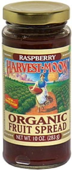 Harvest Moon Organic Fruit Spread Raspberry