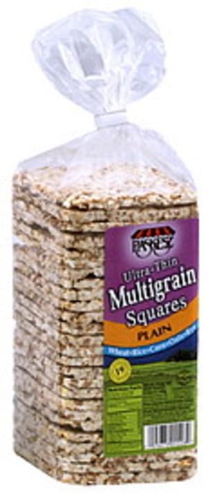 Paskesz Multigrain Squares Plain 4.9 Oz Rice Cakes - 12 pkg