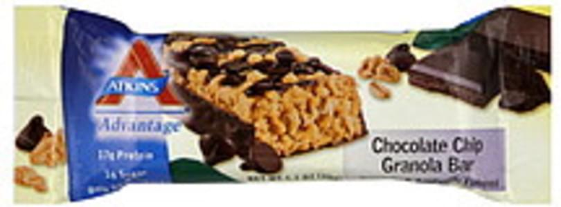 Atkins Advantage Granola Bars Chocolate Chip 12 Ct